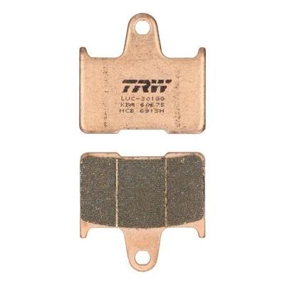 Plaquettes de frein TRW métal fritté MCB691SH