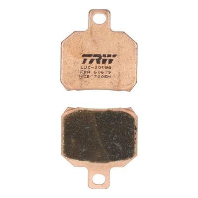 Plaquettes de frein TRW métal fritté MCB700SH