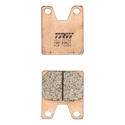 Plaquettes de frein TRW métal fritté MCB702SH