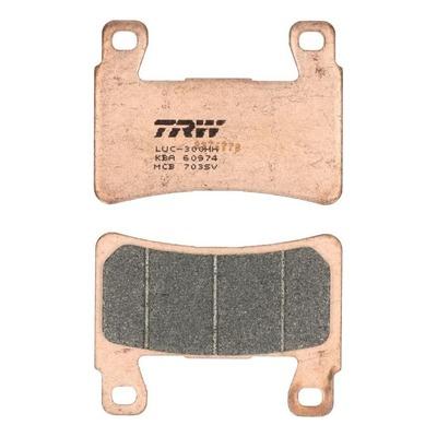 Plaquettes de frein TRW métal fritté MCB703SV