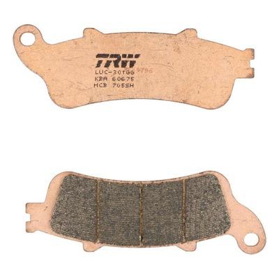 Plaquettes de frein TRW métal fritté MCB705SH