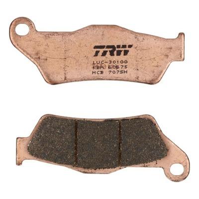 Plaquettes de frein TRW métal fritté MCB707SH