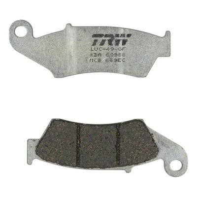 Plaquettes de frein TRW organique MCB669EC