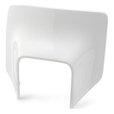 Plastique plaque phare Acerbis Husqvarna 250 FE 17-19 blanc