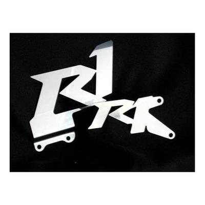 Platines de repose pieds Brazoline logo RR pour Yamaha YZF R1 07-08