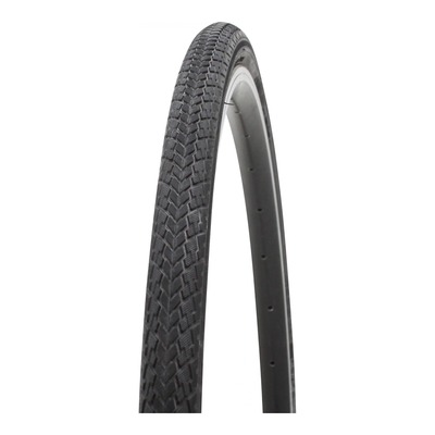 "Pneu vélo VTT Deli Type Marathon Protective layer Renfort anti-crevaison 1.3mm TR noir (26 x 1.75"")"