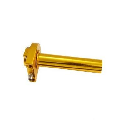 Poignée de gaz alu CNC or