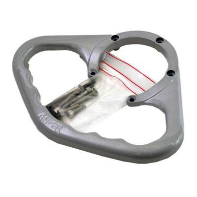 Poignée de réservoir A-SIDER argent pour Ducati Multistrada 1000 DS 03-06