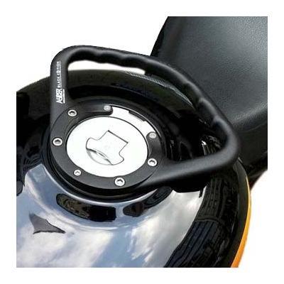 Poignée de réservoir A-SIDER noire pour Ducati Multistrada 1000 DS 03-06