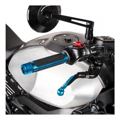 Poignées Barracuda Racing noir/bleu