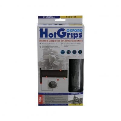 Poignées chauffantes Oxford Hotgrip Essential – Scooter