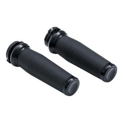 poignées Kuryakyn Thresher tirage à câble Twin-Cam 99-17 noir