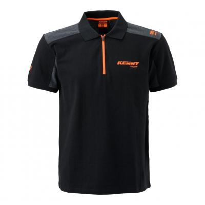 Polo Kenny Racing noir/gris/orange