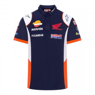 Polo Repsol Honda Team Wear bleu/blanc/orange