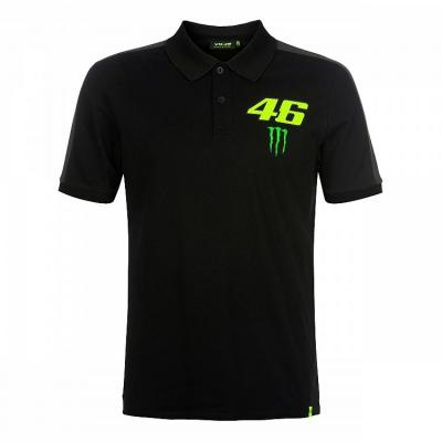 Polo VR46 Valentino Rossi Monster Dual noir 2019