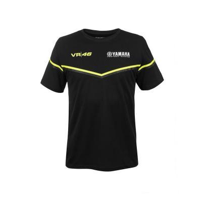Polo VR46 Valentino Rossi Yamaha noir 2018