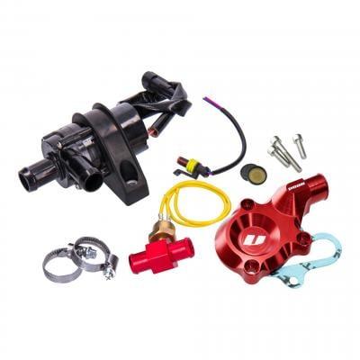 Pompe à eau Voca Racing électrique alu CNC rouge AM6