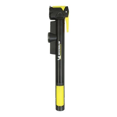 Pompe à main Michelin 8 bars noir/jaune (avec manomètre 8 bars)