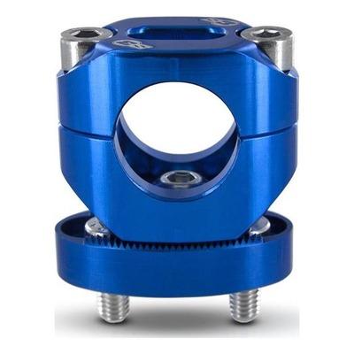 Pontets de guidon Ø 28.6 bleu racing S3 réglable +13mm