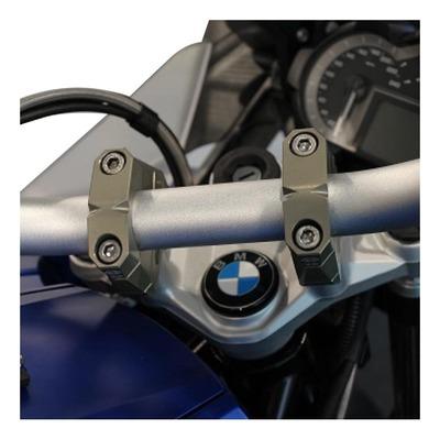 Pontets de guidon Gilles Tooling 22/28 mm titane BMW R 1250 GS 19-21
