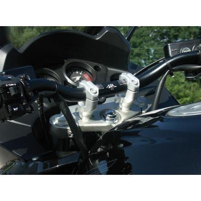 Pontets de guidon LSL rehausse +30 mm Ø28 Honda CBF 1000 06-11