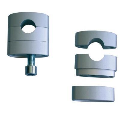 Pontets réglables Alloy Ultima Ø22mm anodisé titane