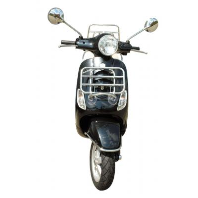 Porte-bagages Logoscooter chrome repliable avant Vespa LX