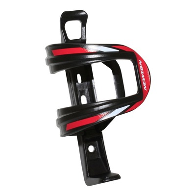 Porte-bidon Newton N3 Composite noir/rouge (sortie latérale)