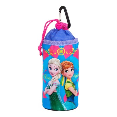 Porte-bidon souple Disney Frozen bleu