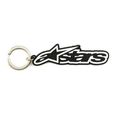 Porte clé Alpinestars Blaze noir/blanc