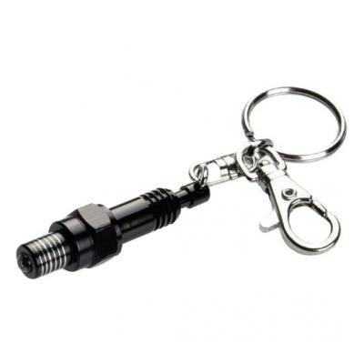 Porte-clé LED Booster Bougie noir