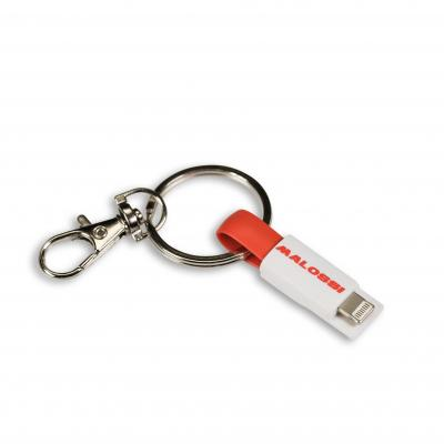 Porte clé Malossi avec câble USB