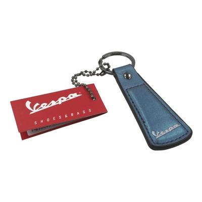 Porte clé Vespa Skyline bleu