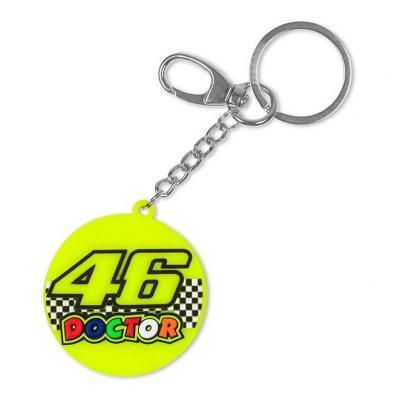 Porte-clé VR46 Race Doctor key ring jaune