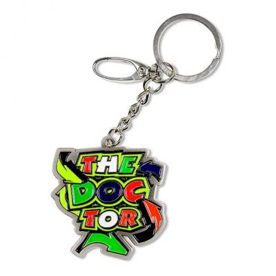 Porte-clé VR46 Street art metal key ring multicolore