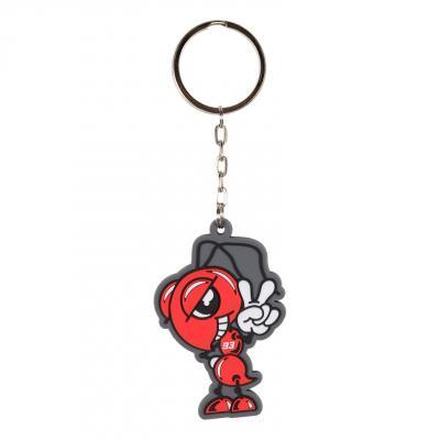 Porte-clés Marc Marquez 93 Ant rouge