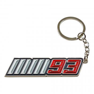 Porte-clés Marc Marquez MM93 blanc/rouge