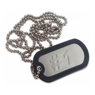 Porte clés plaque type armée US #1