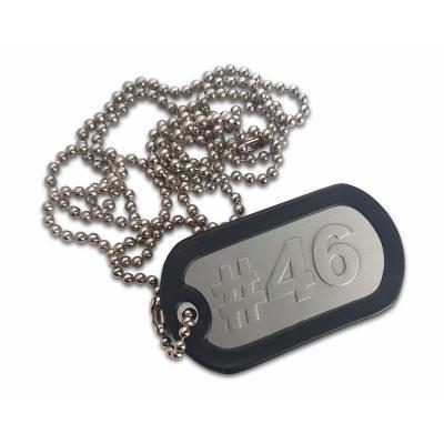 Porte clés plaque type armée US #46