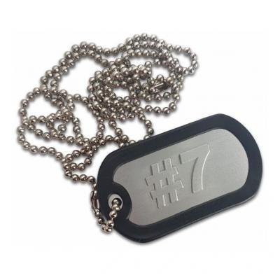 Porte clés plaque type armée US #7