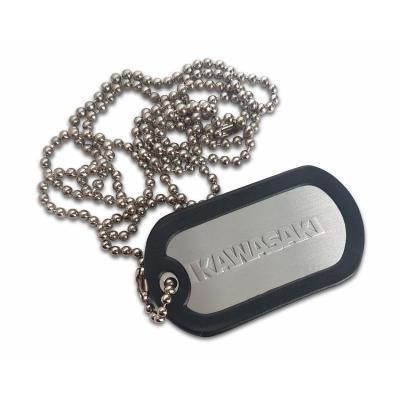 Porte clés plaque type armée US Kawasaki