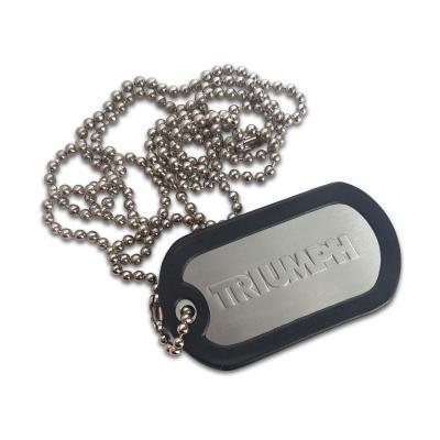 Porte clés plaque type armée US Triumph