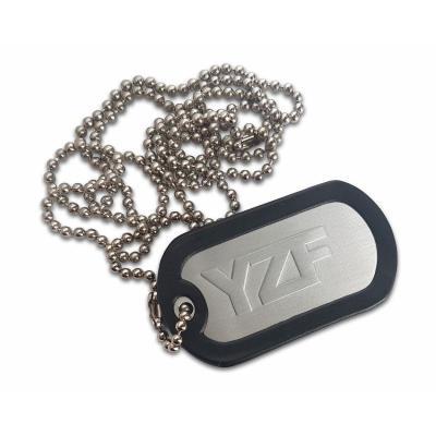 Porte clés plaque type armée US YZF