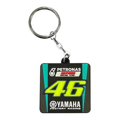 Porte-clés VR46 Petronas noir