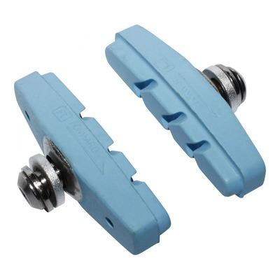 Porte-patins moulés Newton bleu pastel