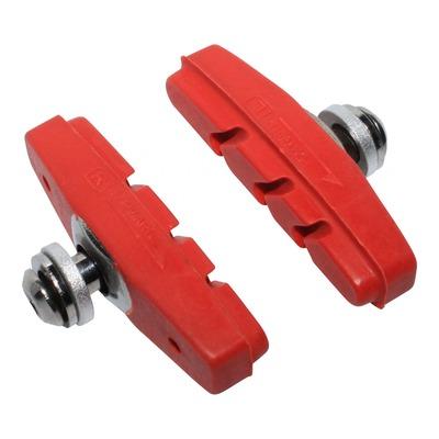 Porte-patins moulés Newton rouge