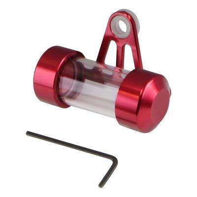 Porte vignette d'assurance rouge tube