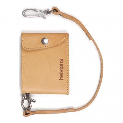 Portefeuille cuir Helstons Mini Wallet tan (Petit modèle)