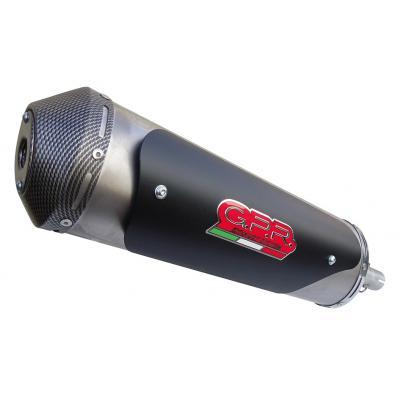 Pot d'échappement GPR Maxi Street Titanium Fuoco 500