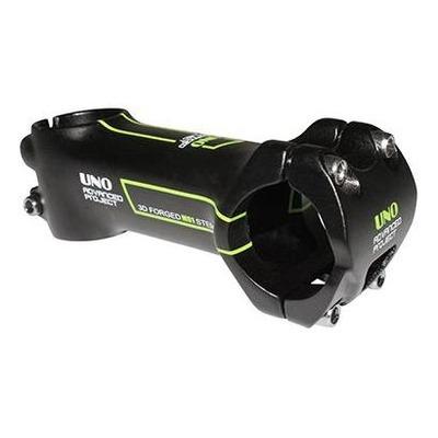 Potence VTT/route UNO Race inclinaison -7° L. 110mm noir/vert